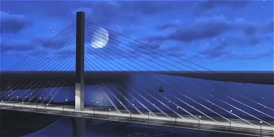 Así será el nuevo puente Pumarejo de Barranquilla