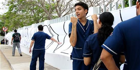 En huelga de hambre, 4 estudiantes de la San Martín en Barranquilla
