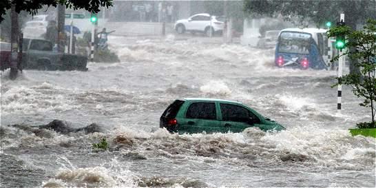 Video: los estragos en Barranquilla por culpa de los arroyos