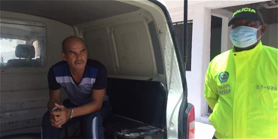 'El Monstruo' ya está tras las rejas en Barranquilla