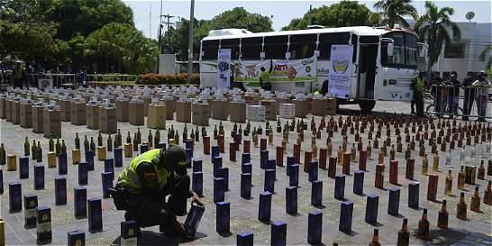 En la Costa, Policía no retrocede frente al contrabando