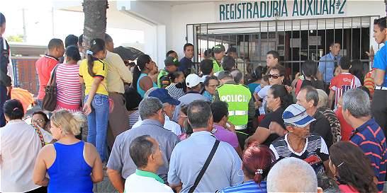 CNE investiga legalidad de 90 mil cédulas inscritas en Soledad