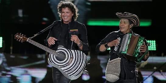 El 7 de noviembre, Carlos Vives repetirá concierto en Barranquilla
