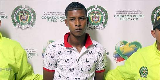 Capturado presunto asesino del joven Juan Montenegro, en Barranquilla