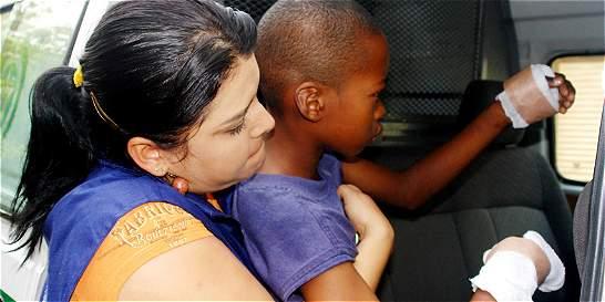 Niño sufre quemaduras de tercer grado por contacto con pólvora