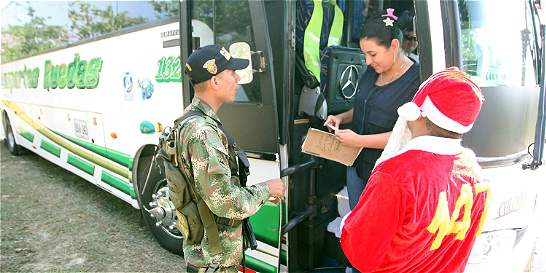 El Ejército tiene listo el plan 'Viaje seguro'
