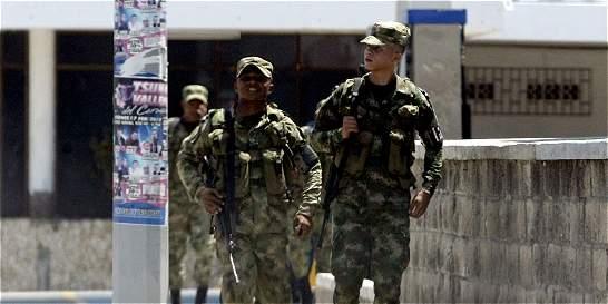 Ejército ya patrulla en sectores de Barranquilla