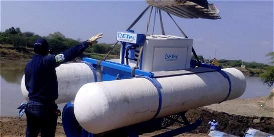 CRA instala equipos para llenar de agua al Guájaro