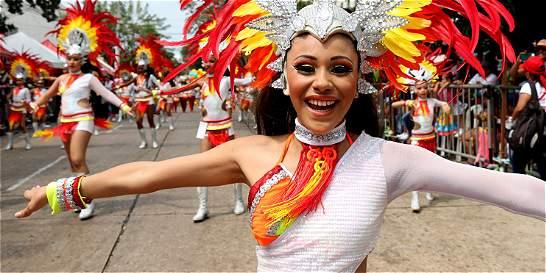 Los niños vibraron en su desfile de Carnaval