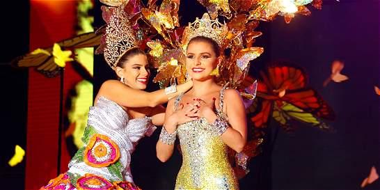 Reina del Carnaval 2016 llenó de magia y color su noche de coronación