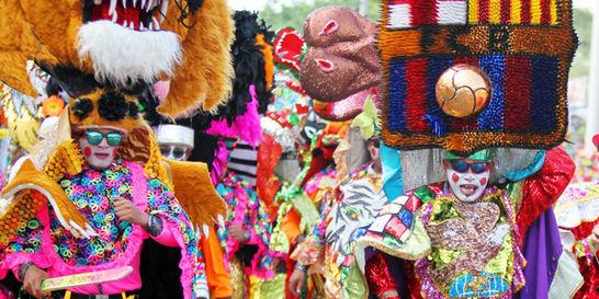 Barranquilla y el mundo bailan a ritmo de carnaval