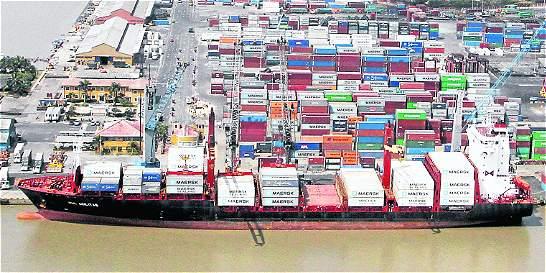Zona portuaria de Barranquilla incrementó movimiento de carga