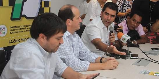 Barranquilla lanzó aplicación de taxis para seguridad de usuarios