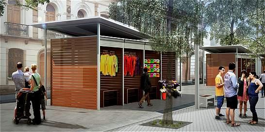 Así lucirán las zonas peatonales del centro de Barranquilla