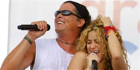 Carlos Vives y Shakira planean subirse juntos a 'La bicicleta'