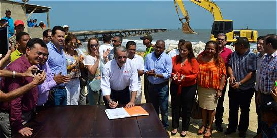 Gobernación empieza a pagarle deuda a Puerto Colombia