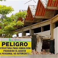 Este domingo será la implosión del Coliseo Humberto Perea