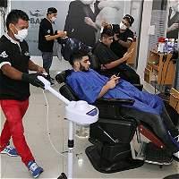 Las barberías 'recargadas' se toman el norte de Barranquilla