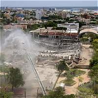 Coliseo Cubierto de Barranquilla fue demolido y quedó en la historia