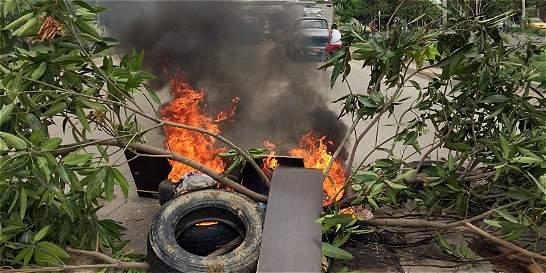La 'mala energía' de Electricaribe en Barranquilla