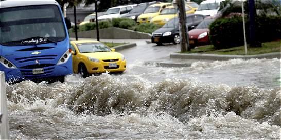 Los estragos que dejó un fuerte aguacero en Barranquilla