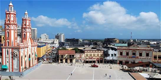 Con reubicación, inició peatonalización en el centro de Barranquilla