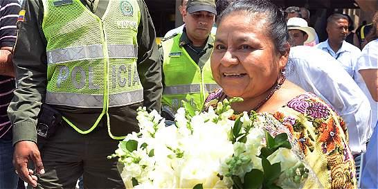 El Chuchal, el barrio que ahora se llamará 'La Paz, Rigoberta Menchú'
