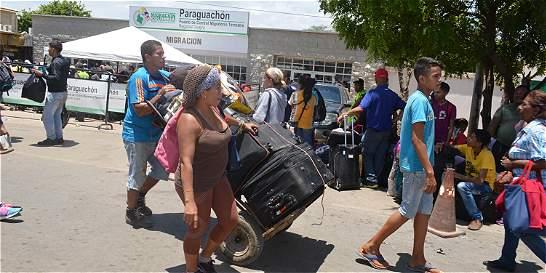 En Paraguachón ya comenzó a normalizarse el  flujo migratorio