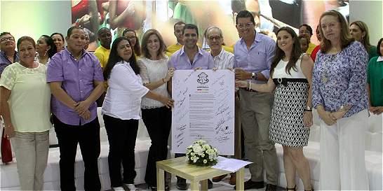 Barranquilla, primera ciudad del país en firmar pacto por la educación