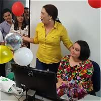 Ana María cumplió su sueño de ser profesional a pesar de su trastorno
