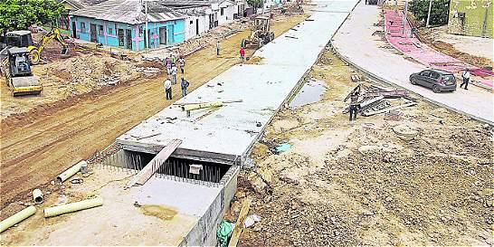 Adjudican obras de canalización de 4 arroyos más en Barranquilla