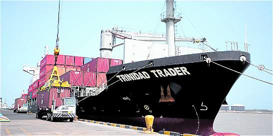 Crece la carga movilizada a través del Puerto  de Barranquilla