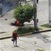Bloqueos en el corredor Universitario de Barranquilla