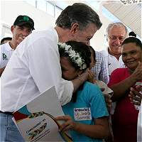 Presidente Santos entregó dos megaobras en Barranquilla