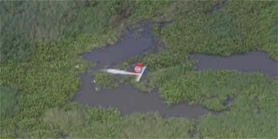 Avioneta se accidenta cerca a Soledad, Atlántico