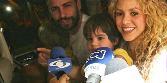 En video: Shakira y su familia ya están en Barranquilla