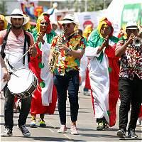 La paz baila con alegría en el Carnaval de Barranquilla