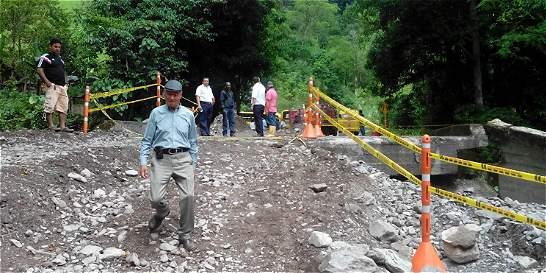 Dos municipios de Boyacá, incomunicados con el centro del país
