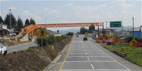 Por obras, habrá cierres en la vía Tunja - Duitama