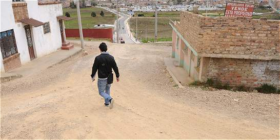 En Tunja preocupa calle 18 inconclusa