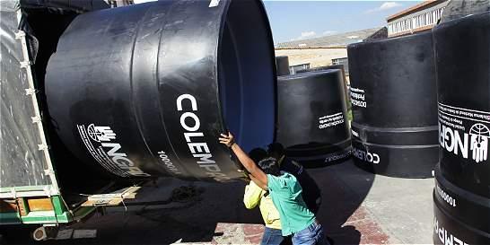 A Boyacá llegan tanques para enfrentar la sequía