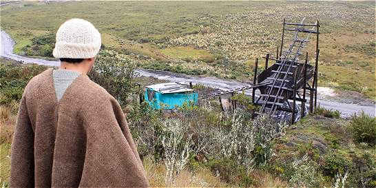 Minería no va más en páramos de Boyacá