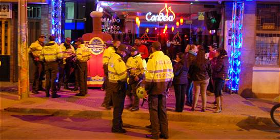 Redada a bares y clubes de Tunja