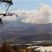 Emergencia por incendio en Ráquira, Boyacá