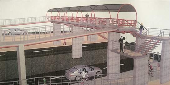 Construirán puente peatonal en el barrio El Jordán en Tunja
