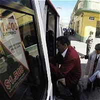 Aumento será de $100 y $200 en busetas y 300 en taxi en Tunja