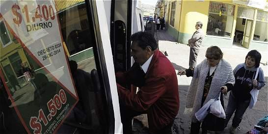 Precio del transporte público en Tunja subirá desde primero de julio