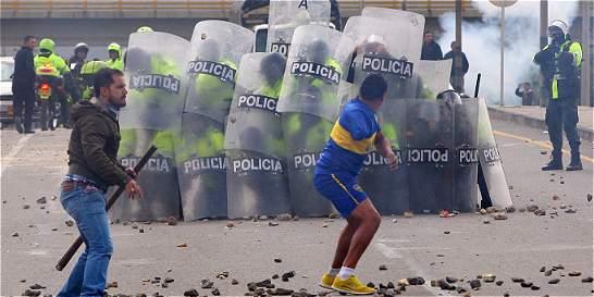 Violencia por paro de camioneros se desbordó en Boyacá