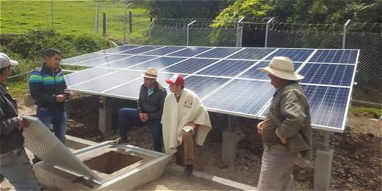 Energia solar solucion en vereda de Firavitoba - ElTiempo.com