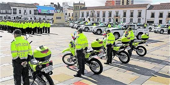 Policía de Tunja refuerza la seguridad